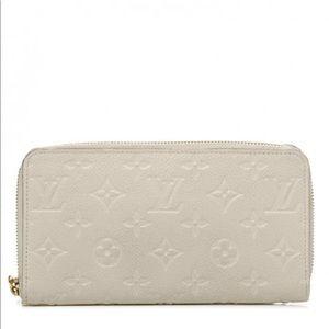 Louis Vuitton Empreinte Zippy Wallet Zip Around